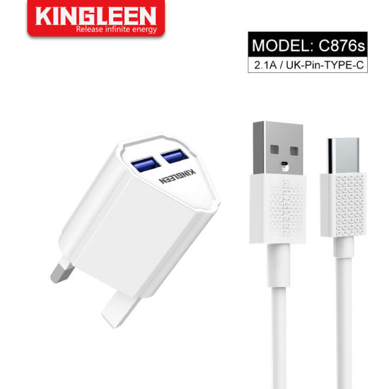 [Hot Item] USB Type-C Charger Fast Home Wall Charger and USB C Cable UK  Plug Compatible LG Samsung HTC 10 Huawei Xiaomi