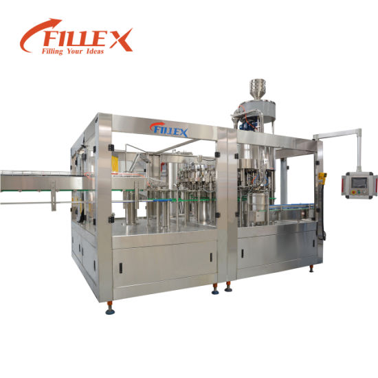 Can Soft Drink Carbonated Beverage Filling and Packing Machine
