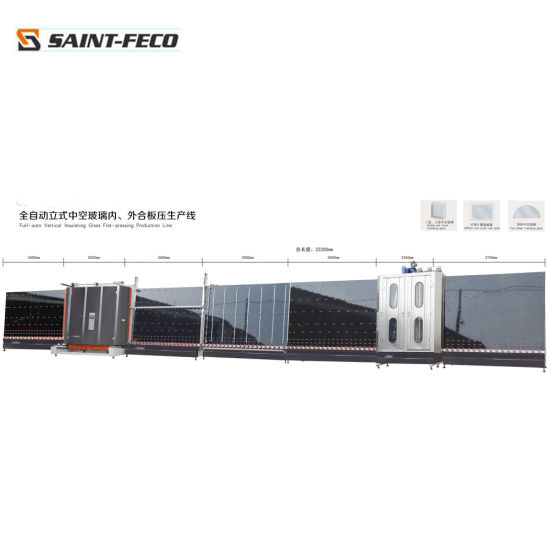 Double Glass Processing Machine with Automatic Sealing Robot Machine