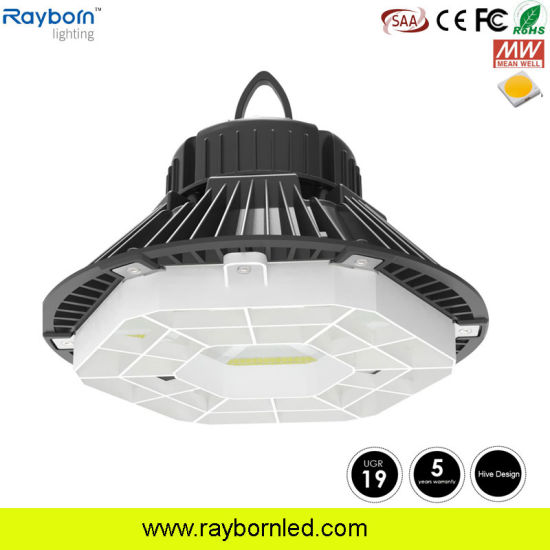 china daylight sensor 200watt industrial ufo highbay lighting for