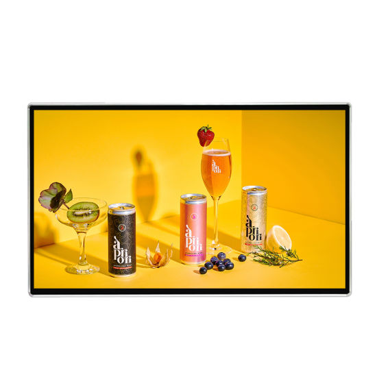 55 Inch Digital Signage LCD Advertising Screen Wall LCD Advertising Display