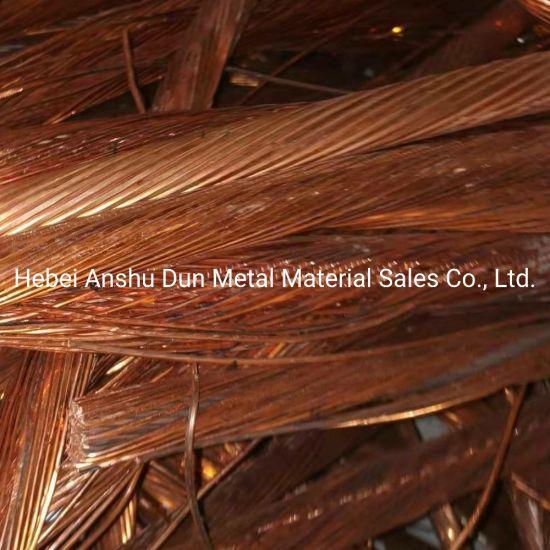 Factory Supply Copper Wire Scrap 99.99% Scrap Copper Wire, Red Bright Copper Wire, Millberry Copper Scrap 99.9%Min