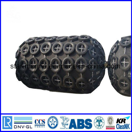 Pneumatic Rubber Fender with Chain and Tyre Net Best Price pictures & photos