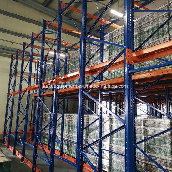 Heavy Duty Drive in Pallet Racking for Korean Warehouse Storage