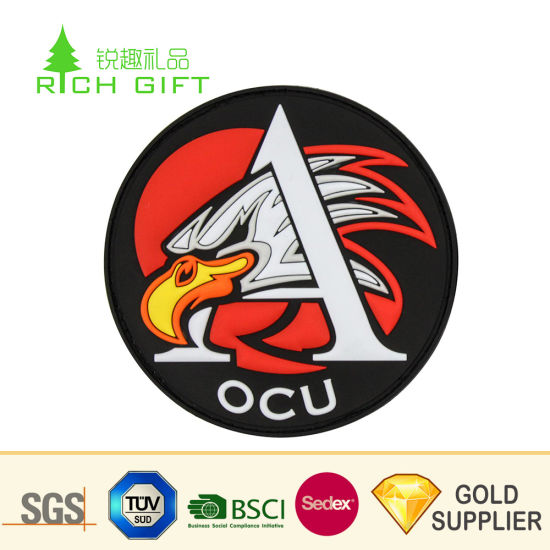 China Wholesale Custom 3D Logo Clothes Woven Embroidered
