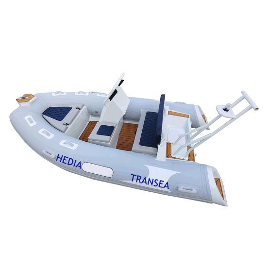 12 Feet Rigid-Hulled Inflatable Boat Aluminum Rib 360