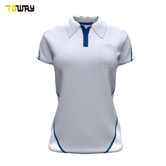 New Design White Polo Shirt