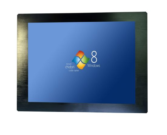 OEM Industrial Panel PC 17 Inch Industrial Computer IP65 J1900 CPU All in One Touchscreen PC