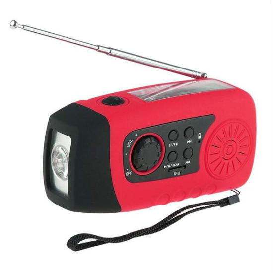 Portable Power Bank Solar Radio