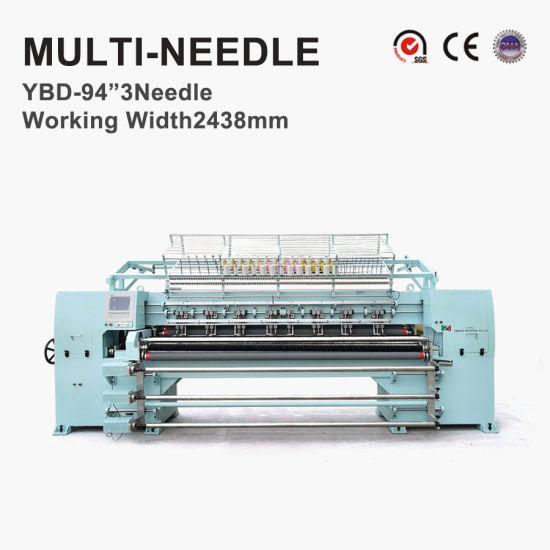 "94""-3 Needle Computerized Multineedle Quilting Machine"