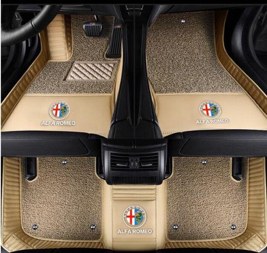Premium Diamond Xpe 5d Car Floor Mats For Alfa Romeo Giulia Stelvio Suv Left Right Hand Driver