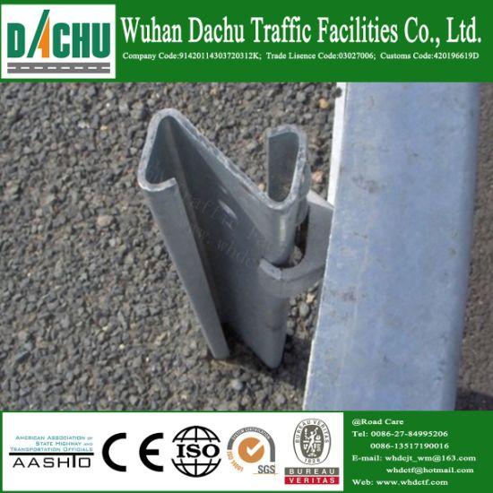 China Stainless Highway Guardrail Galvanized Steel Railing