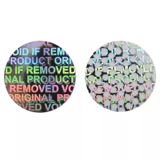 Customized Pet Void Laser Label Void Warranty Sticker