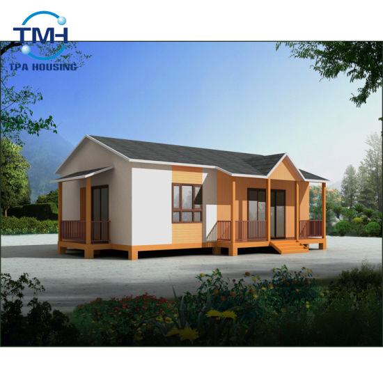 China Light Steel Structure Modular Villa Home Design Prefabricated House China Prefabricated House Prefab House