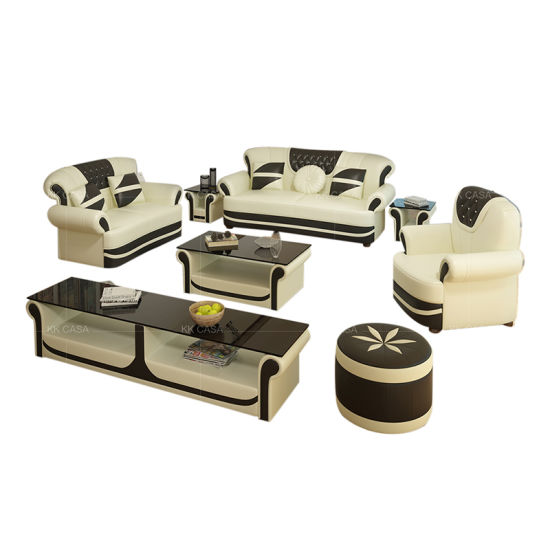 Modern Turkey 123 Seater Living Room Furniture Hotel Reception Leather Office Sofa