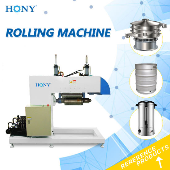 Hydraulic Roller Plate Rolling Machine for Cone Forming 2186 pictures & photos