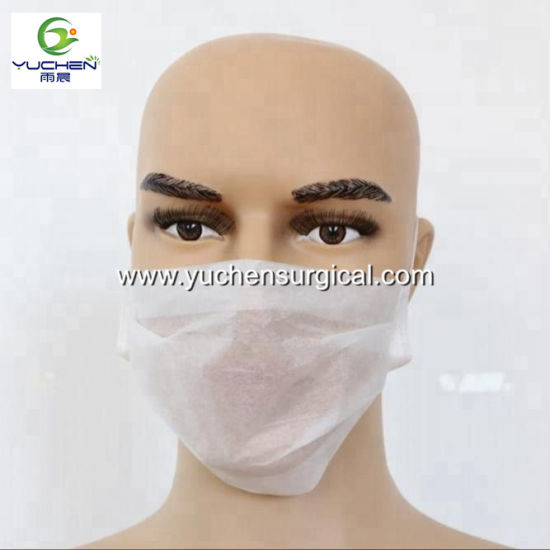 Disposable Paper Face Dustproof With Factory China Surgical Earloops Mask
