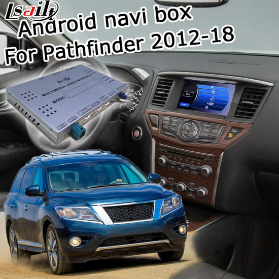 China Lsailt Android GPS Navigation Interface for Nissan Pathfinder
