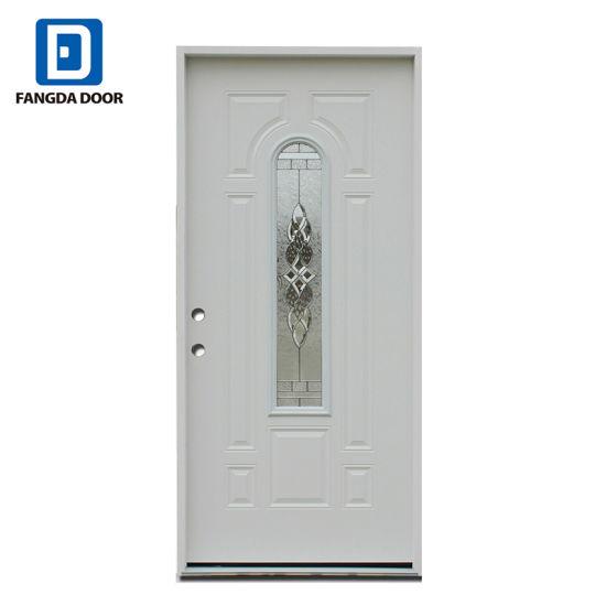 American Prehung Front Steel Exterior Glass Entry Door