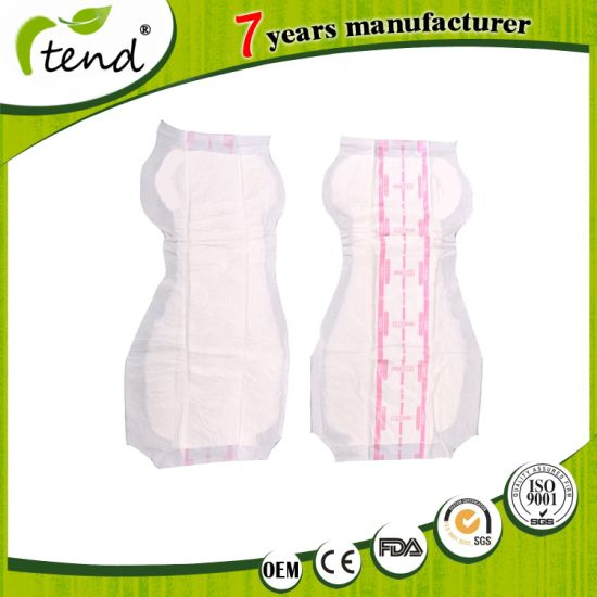 Super Absorption Disposable 8 Shape Adult Diaper Inserts Incontinence Pads for Adults
