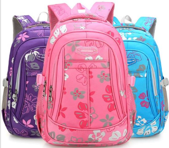 240e31dd2574 Manufacturer New Wholesale Primary School Schoolbag 1-3-6 Grade Breathable Female  Backpack Wear - Resistant Girl Bag a Substitute