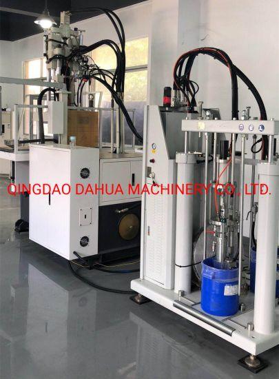 Medical Silicone Laryngeal Mask Machine, Vertical Silicone Injection Machine for Medical Parts