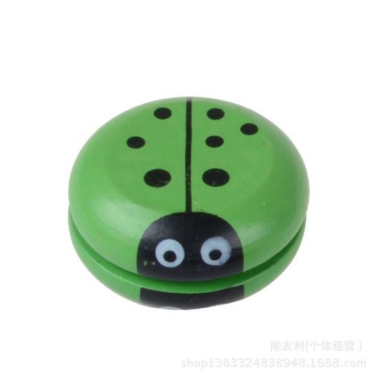Children′s Creative Toys Kids Wooden Yo-Yo Yoyo Ball