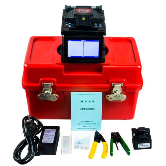 Automatically Fiber Splicer and High Quality Portable Dvp-740 Fiber Optic Fusion Splicer Machine pictures & photos