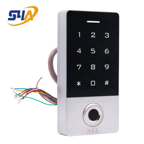 Waterproof IP68 Fingerprint Touch-Screen Standalone Access Control
