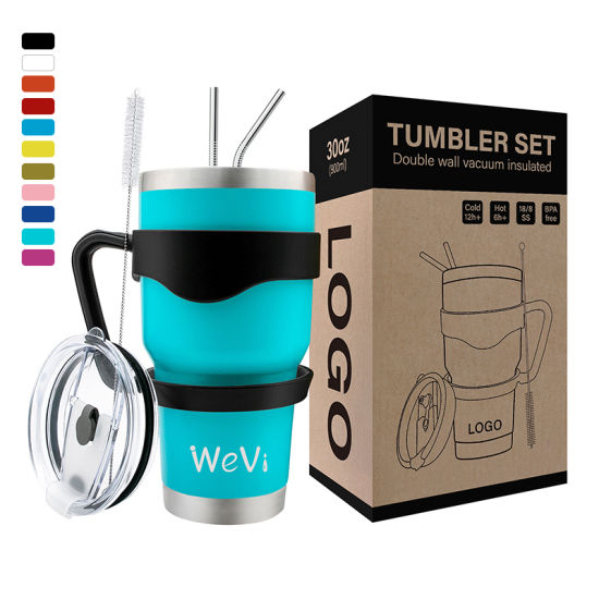 Wholesale Stainless Steel Tumbler Travel Coffee Mug with Customizable Logo