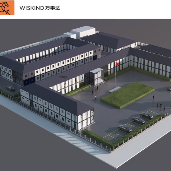 Prefabricated/Prefab Building/Modular/Movable House for Hospital/Dormitory Labor Hotel/Portable Shipping Container House