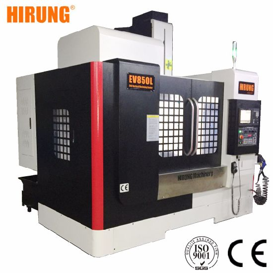 3 Axis 4 Axis 5 Axis Metal Milling Machine Frame Price EV850L Vertical CNC Machining Center pictures & photos