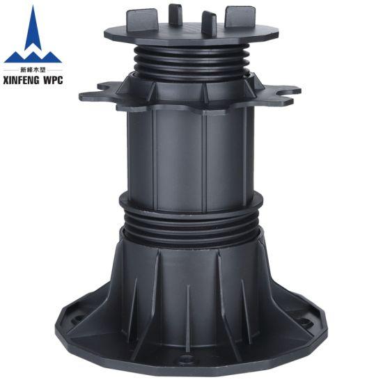 Custom-Made Adjustable Plastic Pedestals with Range 140-220mm for DIY Wood Stones Tiles