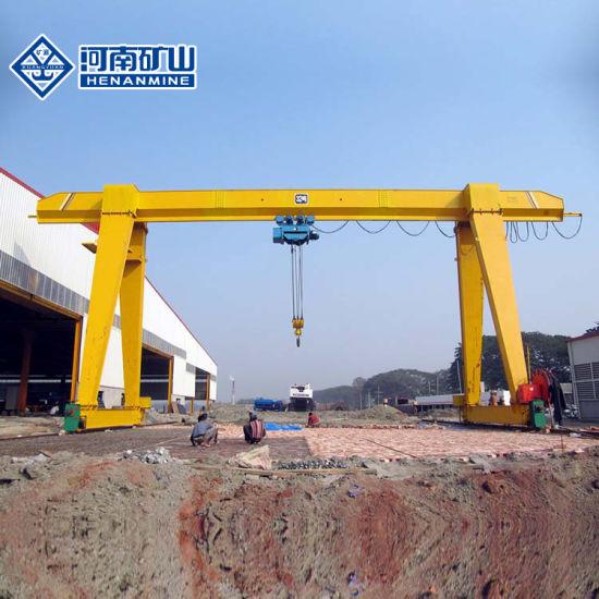 10 Ton Single Girder Gantry Crane with Electric Trolley