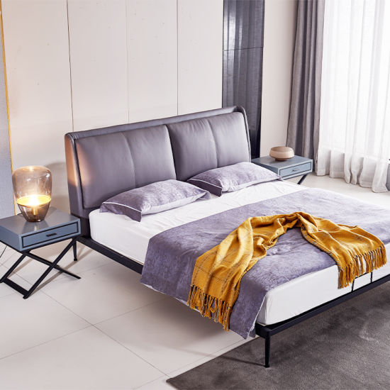 Hot Sale Nordic European Style Bedroom Furniture King Queen Size Metal Bed China Bed Bedroom Furniture Made In China Com
