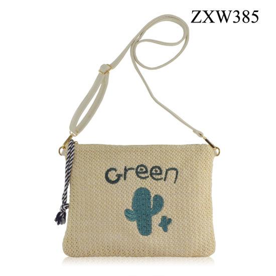cfdd92c8172a 2018 Latest Handbag Lovely Embroidery Pattern Zxw385