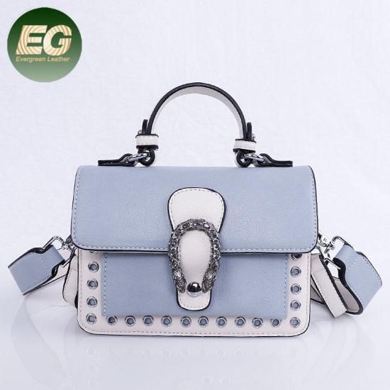 f7b75fcc0b0d China Supplier Wholesale PU Leather Handbag From Guangzhou Factory Sh610
