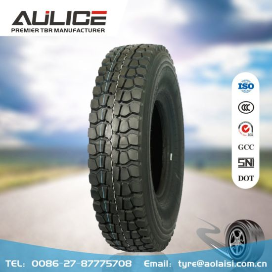 All steel radial truck tyres, AULICE TBR/OTR tyres factory, heavy duty truck tires(AR3137 12.00R20) with Super overloading capability, excellent wear resistance