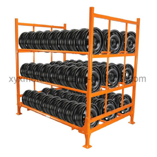 Wonderful Commercial Truck Tire Rack Rims Pallet Racking pictures & photos