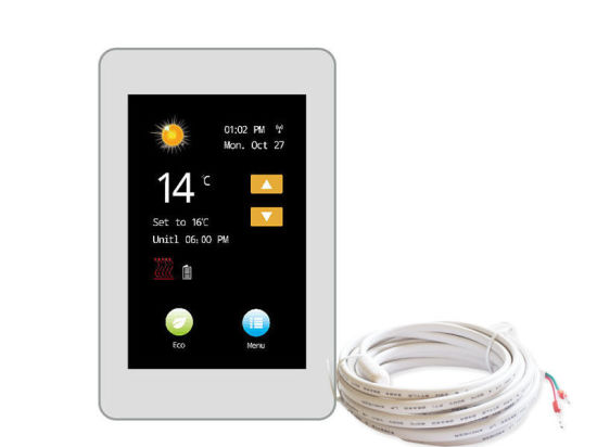 Smart Wireless Touch Screen Weekly Programmable Floor Heating Thermostat