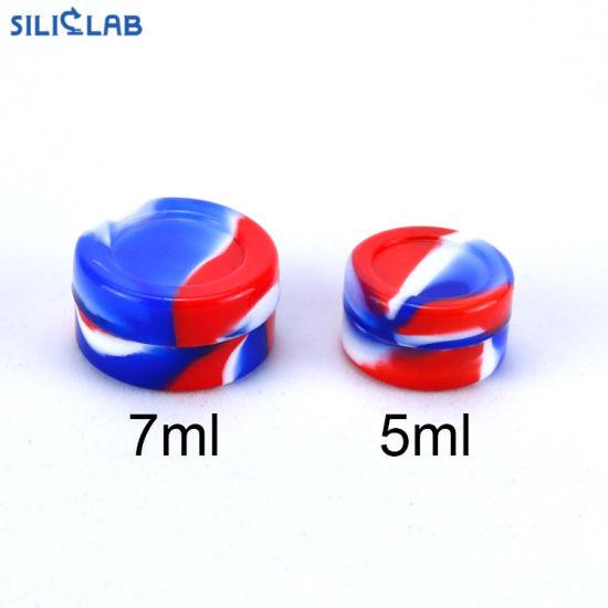 5ml 7ml 10ml DAB Wax Jar Silicone Bho Oil Containers