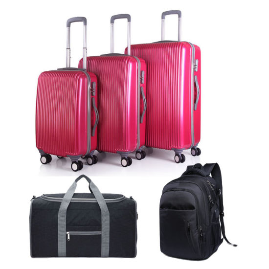 Enfung 5PCS Trolley Luggage Set with Bag for Travel pictures & photos