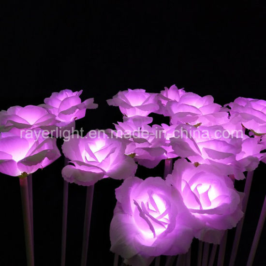 Commercial LED Lights Flower Colorful Christmas Decoration