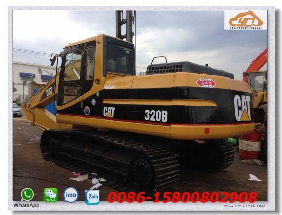 China Competitive Used Crawler Excavator Caterpillar 320b