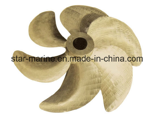 China 5 Blade Outboard Tugboat Boat Underwater Marine