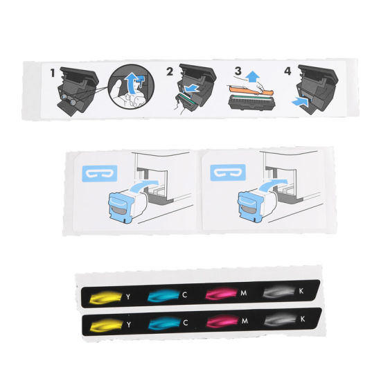 photograph relating to Printable Vinyl Labels named China Roll Self Adhesive Sticker Labels Personalized Printing