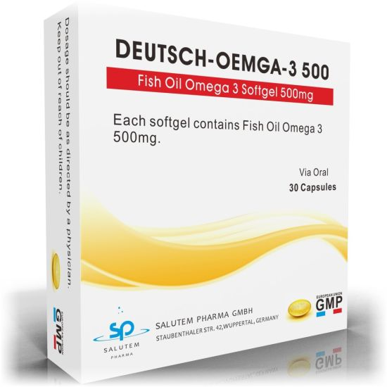 High Quality OEM Contract Manufacturing Fish Oil Omega 3 Softgel