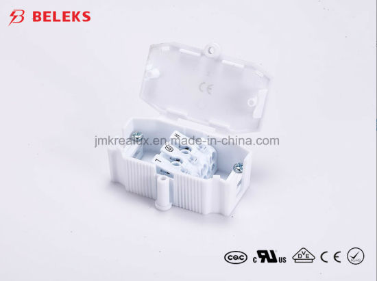 class ii protection wiring box with 3 pole cable connector for led lighting  pictures & photos