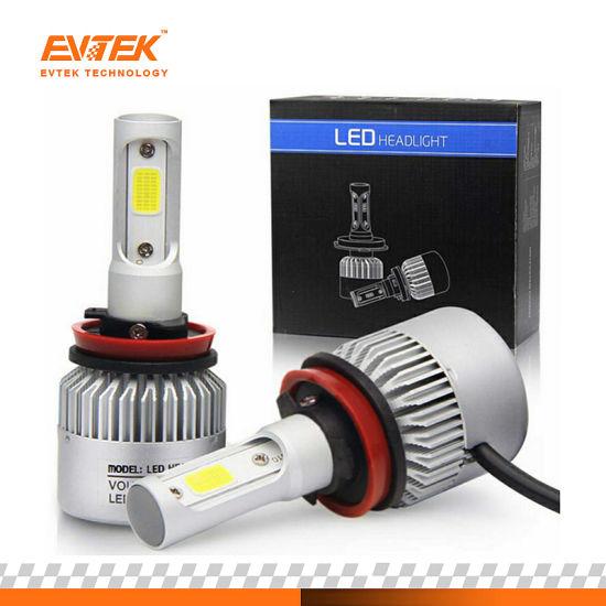 Auto LED Headlight 36W 4000lm S2 COB LED Headlight Bulbs H11 H1 H3 H4 H7 9005 9006 Car LED Head Lamp