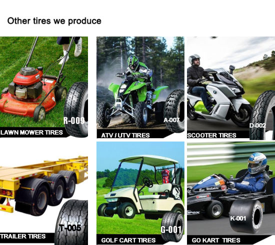 ATV Go Kart Trailer Golf Cart Scooter Motorcycle Motocross Tyre pictures & photos
